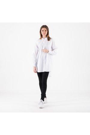 Pieces Kvinder Casual - Pcmulan ls oversized shirt