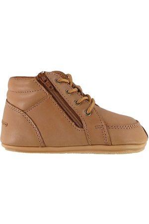 Bundgaard Lær-at-gå sko - Begyndersko - II lace - Caramel