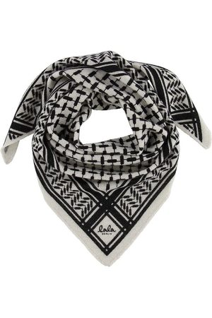 LALA BERLIN Tørklæder - Tørklæde - Triangle Trinity Classic S - Alabastro