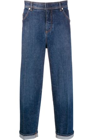 Neil Barrett Jeans med lige ben og opslag