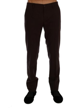 Dolce & Gabbana Wool Stretch Formal Pants