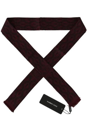 Dolce & Gabbana Crown Chili Scarf