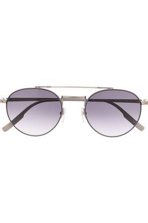 Ermenegildo Zegna Runde aviator-solbriller