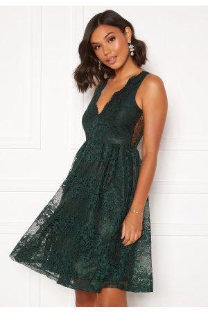 Moments New York Ella Lace Dress Dark green 42