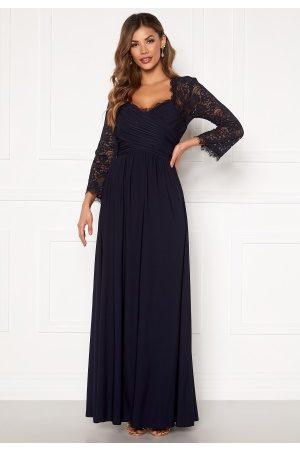 Chiara Forthi Kvinder Maxikjoler - Nathalia Maxi Dress Dark blue XS