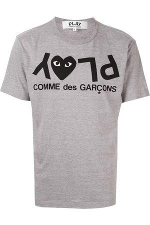 T shirt med logotryk