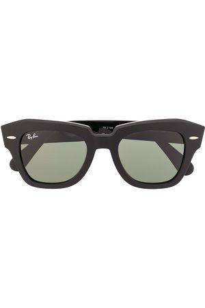 Ray-Ban Firkantede solbriller med tonet glas