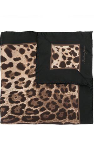 Dolce & Gabbana Tørklæde med leopardtryk