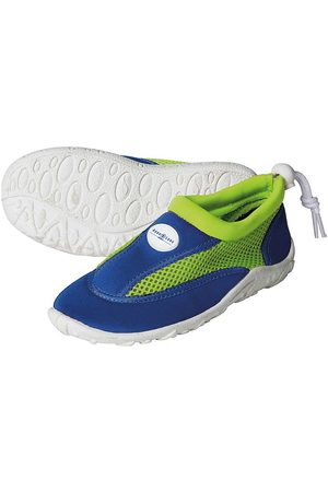 Aqua Sphere Tøffler - Badesko - Cancun Jr - Royal Blue/Bright Green