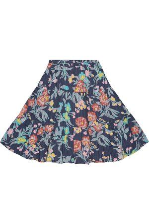 BONPOINT Printed cotton skirt