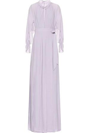 Roland Mouret Evora silk-georgette maxi dress