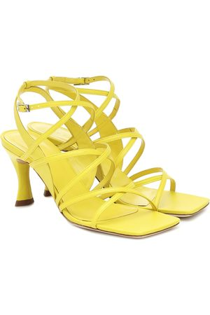 By Far Christina leather sandals