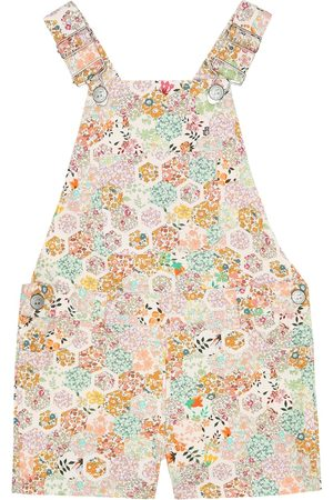 BONPOINT Saga Liberty floral cotton overalls