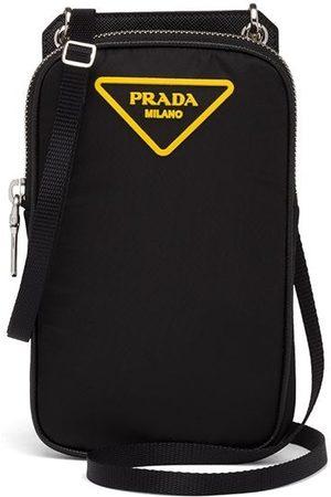 Prada Polstret smartphone-cover med logomærke