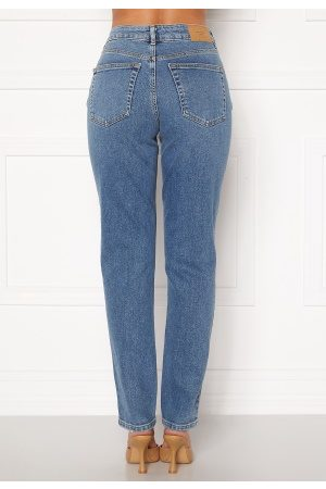 Vero Moda Sara Relaxed Jeans Medium Blue Denim 27/32