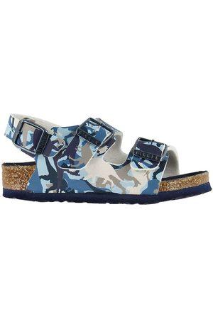Birkenstock Sandaler - Sandaler - Milano Kids - Dino Camo Blue