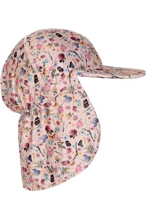 Melton Hatte - Sommerhat - Rosa m. Blomster