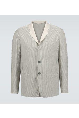 Sease Striped cotton blazer