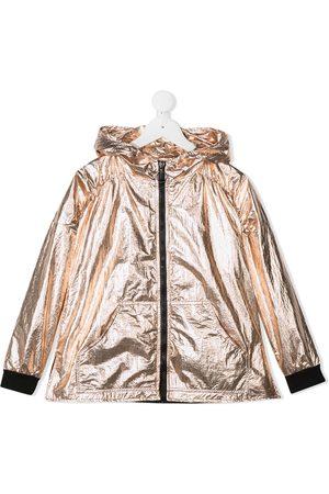 Le pandorine Metallisk jakke med hætte