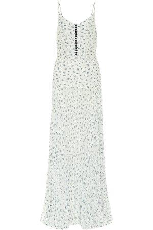 Chloé Kvinder Maxikjoler - Floral silk maxi dress