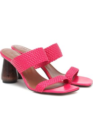 Souliers Martinez Exclusive to Mytheresa – Limon 80 leather sandals