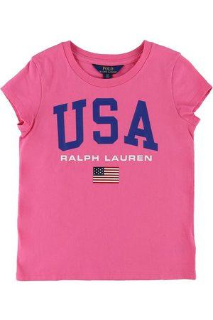 Ralph Lauren Kortærmede - T-shirt - m. Flag