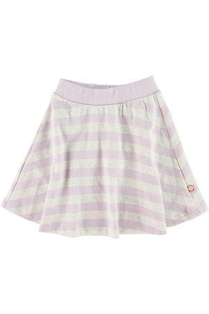 Katvig Nederdele - Nederdel - Gråmeleret/Lavendel