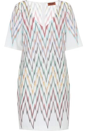 Missoni Kvinder Midikjoler - Stretch-silk dress