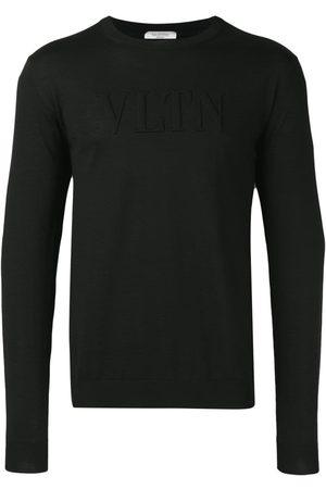 VALENTINO Sweatshirt med præget VLTN-logo