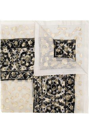 Yves Saint Laurent Tørklæder - Tørklæde med blomstermønster