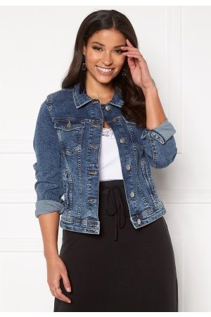 Only Tia Life DNM Jacket Medium Blue Denim 38