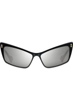 Gucci Rektangulære solbriller i acetat