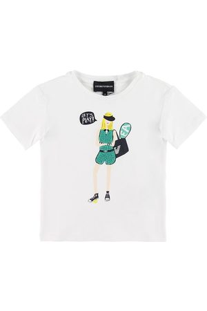 Emporio Armani Kortærmede - T-shirt - m. Pige