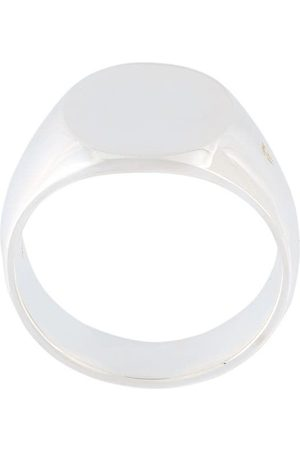 Tom Wood The Oval' signet ring