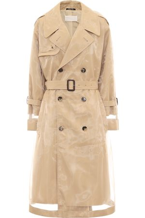 Maison Margiela PVC-wrapped cotton trench coat