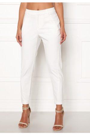 Vero Moda Kvinder Habitbukser - Victoria Ankle Pants Snow White S/30