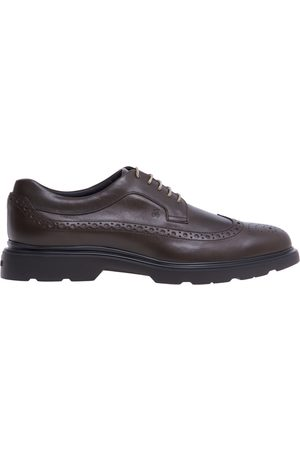 Hogan English style lace-up with leather upper