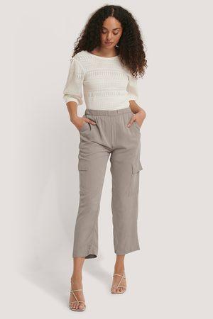 MANGO Kvinder Trekvartbukser - Saty Trousers