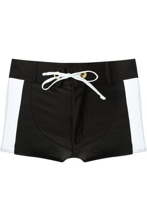 Amir Slama Panelled drawstring trunks