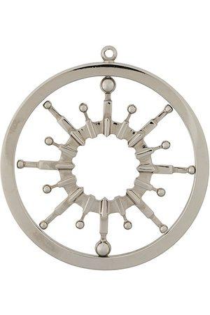 Gianfranco Ferré Halskæder - 2000s wheel pendant