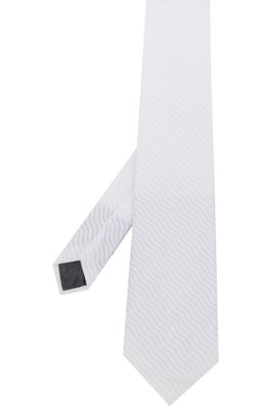 Gianfranco Ferré Pre-Owned Mænd Slips - 1990s wave texture tie
