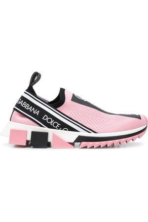 Dolce & Gabbana Strømpe-sneakers med logo