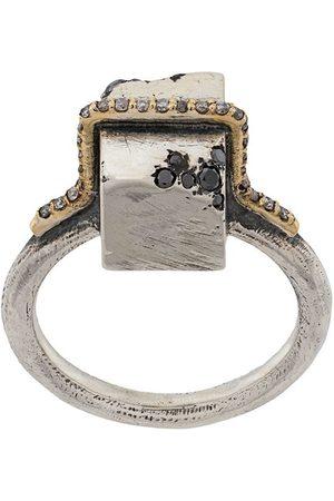 Tobias Wistisen Mænd Ringe - Block Stones embellished ring