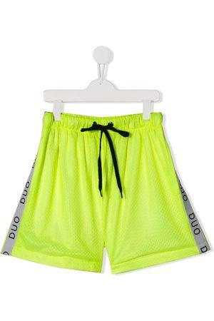 DUOltd Drenge Shorts - TEEN Duo-træningsshorts med striber langs siden