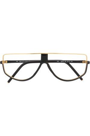 Gianfranco Ferré Stofposer - 1990'er halvmåneformede briller