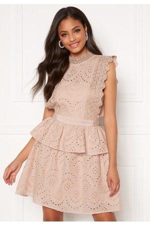 Moments New York Kvinder Kjoler - Olivia Crochet Dress Light pink 34