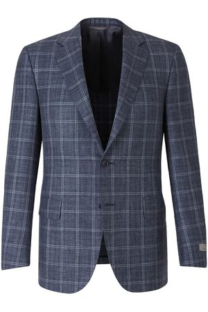 Canali Straight Checked Blazer