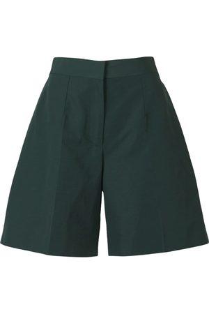 Victoria Beckham Kvinder Shorts - Linen and Cotton Taffeta Shorts