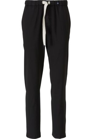 Myths Wool Trousers with Elastic Waistband