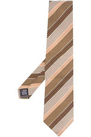 Gianfranco Ferré Mænd Slips - Slips med diagonale striber fra 1990'erne